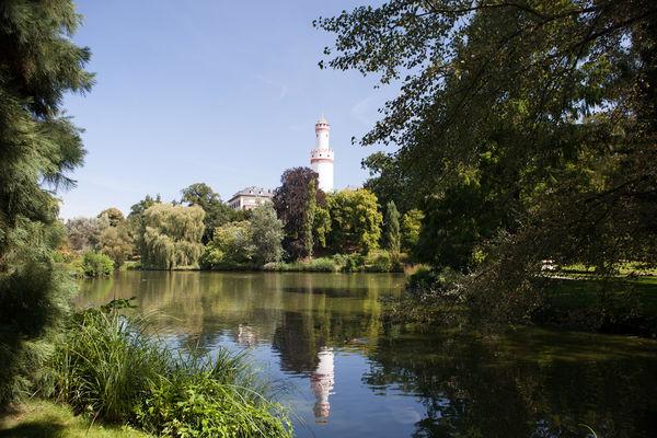 Blick auf das Landgrafenschloss