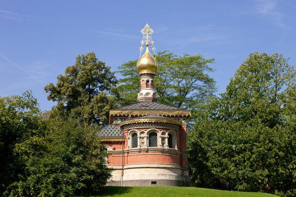 Russische Kirche im Kurpark