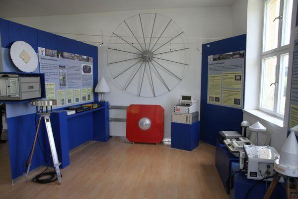 Alles über Satelliten-Navigationsgeräte erfahren Sie in der Ausstellung in Wettzell bei Bad Kötzting