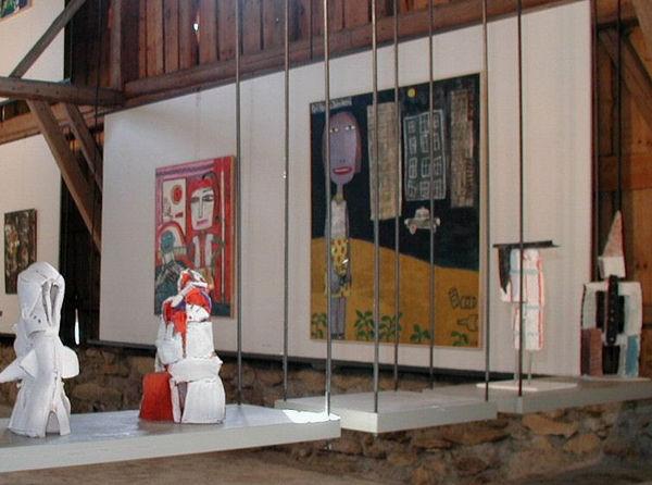 Ausstellung in der Galerie im Woferlhof in Wettzell bei Bad Kötzting