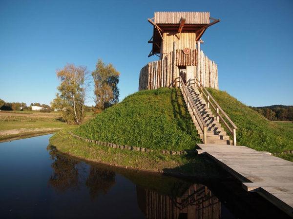 Authentische Bauten im Geschichtspark Bärnau-Tachov