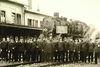 Historisches Gruppenbild Bahnhof Bexbach