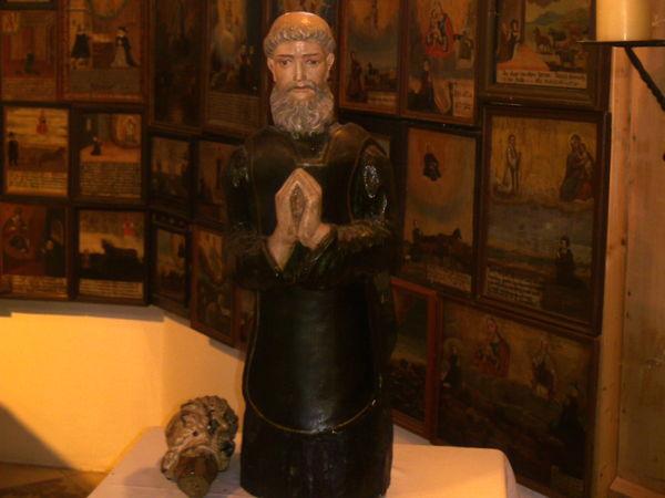 Hirmo-figur i Sankt Hermann ved Bischofsmais