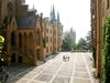 Burghof Burg Hohenzollern