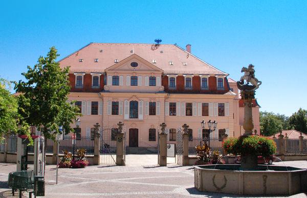 Schloss mit Museum Scharlotte Zander