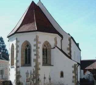 Die St.-Anna-Kapelle in Chammünster bei Cham