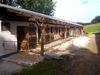 Aussenboxen und Pferdekoppel auf der Pleasure-Ranch im Ortsteil Roßbach bei Chamerau