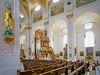 Innenraum der Pfarrkirche in der Kreisstadt Deggendorf