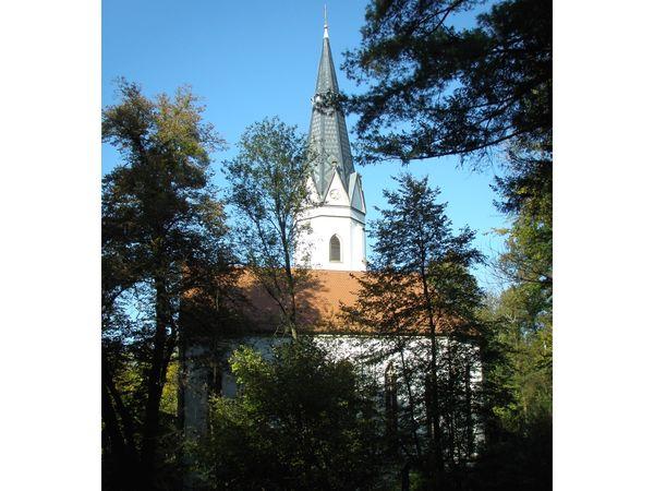 Die Wallfahrtskirche auf dem Geiersberg in Deggendorf, zählt zu den ältesten Pilgerstätten Bayerns