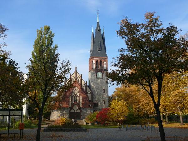 Evangelische Genezareth-Kirche Erkner, Foto: Katrin Rusch