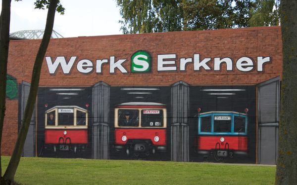 Historische S-Bahnfahrzeuge in Erkner, Foto: Alexandra Pohnke
