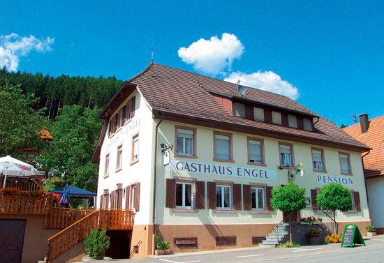 Das bekannte Gasthaus zum Engel