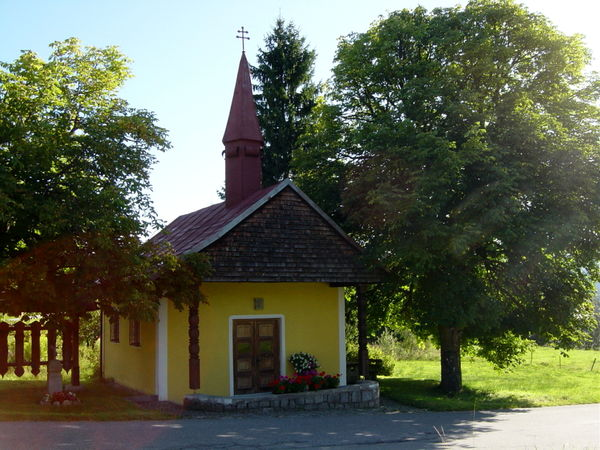 Die Dorfkapelle im Ortsteil Flanitz der Gemeinde Frauenau im ArberLand Bayerischer Wald