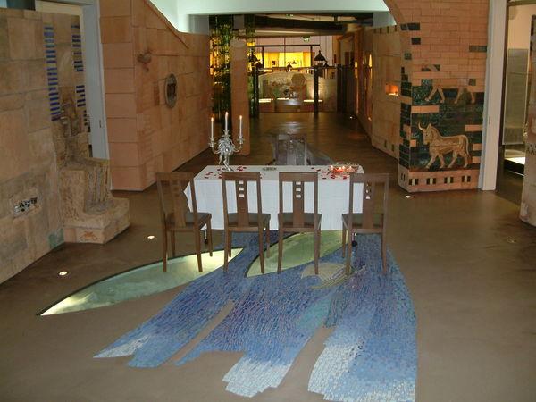 Trauungsraum im Glasmuseum Frauenau