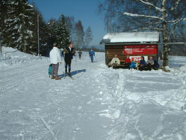 Wintertraum im Langlaufzentrum Oberlüftenegg in Frauenau im ARBERLAND Bayerischer Wald