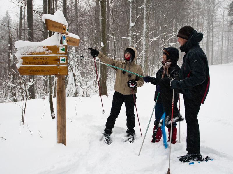Schneeschuhwandern im Nationalpark | Bayerischer Wald