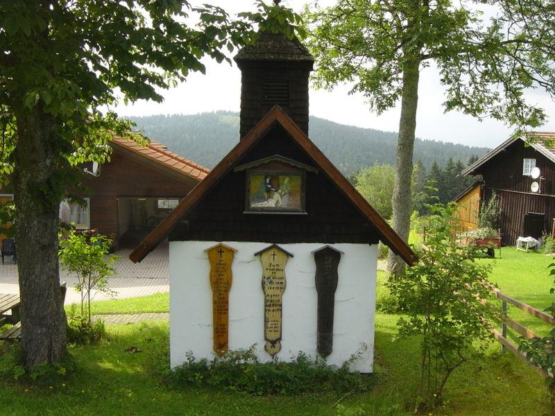 Sedlmeier-Kapelle in Oberlüftenegg in der Gemeinde Frauenau im ArberLand Bayerischer Wald