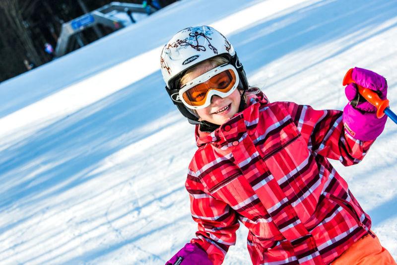 Winterspaß beim Skilift am Geyersberg in Freyung