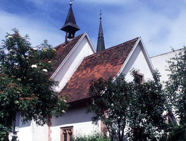 Ehemalige Kapelle des Franziskaner Klosters, wurde 1475 erstmals erwähnt