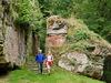 Burgruine Merburg Ausgangspunkt für Wanderungen