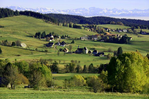 Ibacher Hochtal im Frühjahr