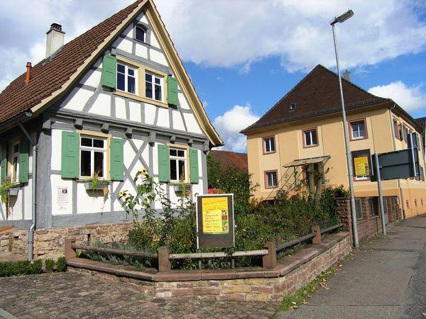 Blick auf das Kleinod in Karlsbad-Langensteinbach