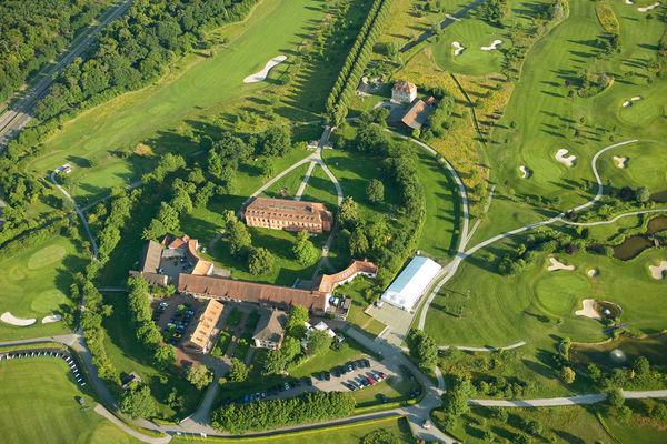 Luftaufnahme Golfclub Hofgut Scheibenhardt