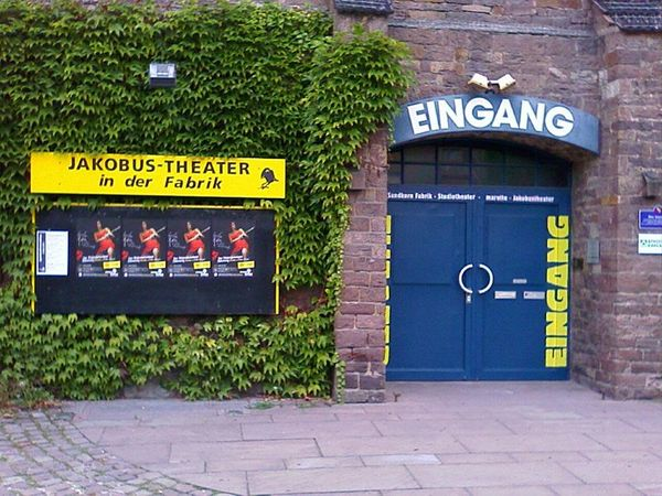 Jaobus Theater Eingang Quelle: Jakobus Theater