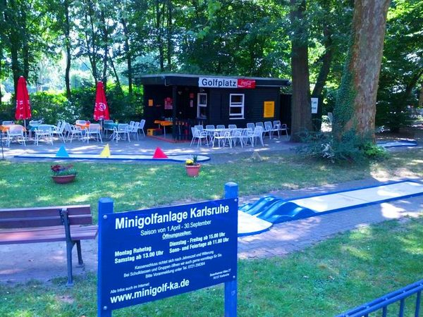minigolf am karlsruher zoo karlsruhe. Black Bedroom Furniture Sets. Home Design Ideas