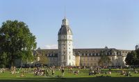 Schloss und Schlossgarten Karlsruhe