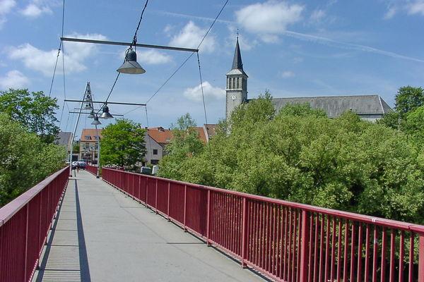 Freundschaftsbrücke zwischen Großbliedersstroff und Kleinblittersdorf