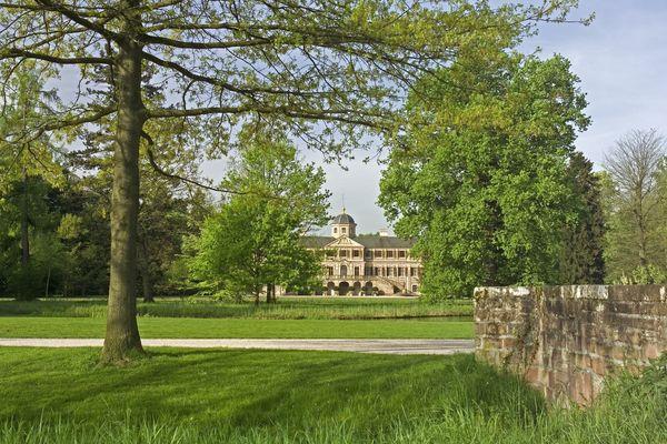 Parkanlage Schloss Favorite in Kuppenheim