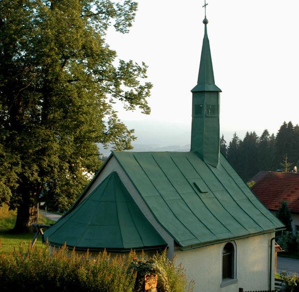 Die Dorfkapelle in Schöneck in der Gemeinde Langdorf im ArberLand Bayerischer Wald