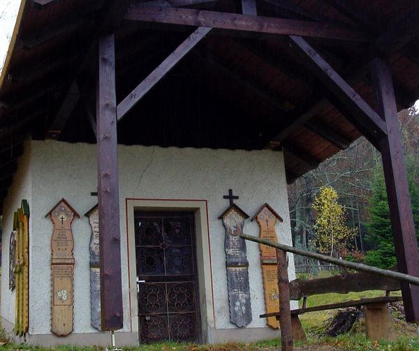 Blick auf die Stojlbaun Kapelle in Eggersberg bei Lohberg am Großen Arber