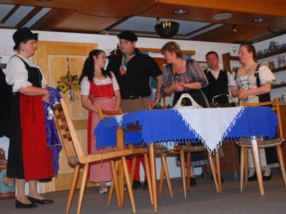 Szene aus einem Theaterstück des Lusentheaters Neuschönau