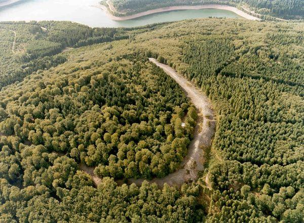 Luftbild Keltischer Ringwall Otzenhausen