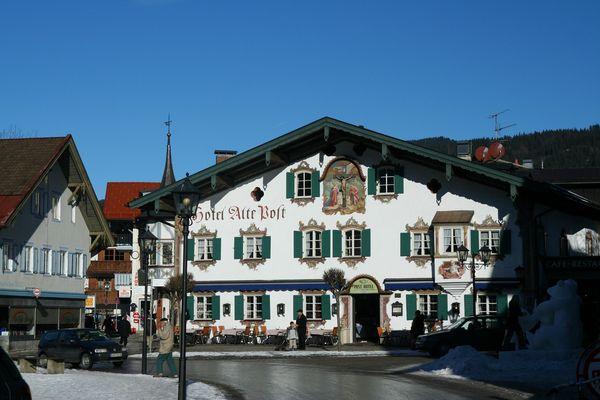 Posch hotel 82487 oberammergau webcam