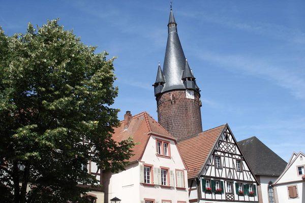 Altstadt Ottweiler am Rathausplatz