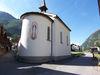 Le choeur en forme de demi-lune indique que la chapelle dédiée à la Vierge Marie date du XIXe siècle.