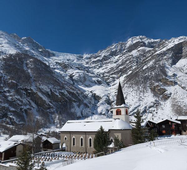 Die Kirche von Randa ist dem Heiligen Sebastian geweiht.