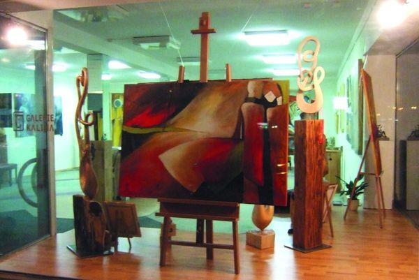 Ausstellung in der Galerie Kalina in der Kreisstadt Regen