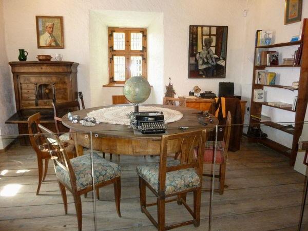 Dichterstube im Fressenden Haus in Weißenstein bei der Kreisstadt Regen