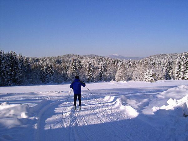 Langlaufzentrum mit Skihütte in Rinchnach