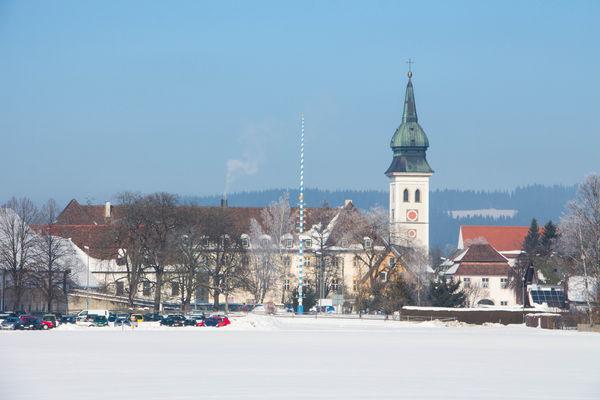 Kloster Rottenbuch im Winter