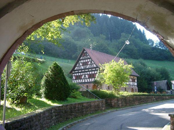 Blick auf das Klostermuseum