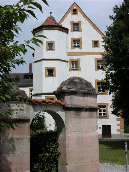 Oberes Schloss Schmidmühlen
