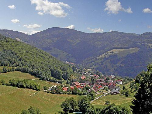 Blick auf Schönenberg
