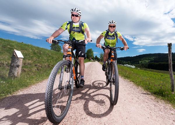 400 ausgeschilderte Mountainbike-Kilometer für Biker, Genussradler und Familien
