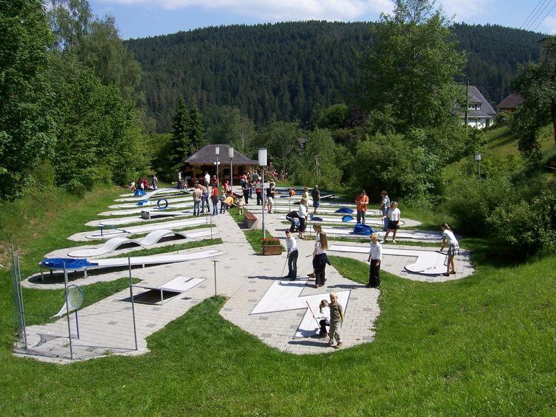 Minigolf Langensteinbach