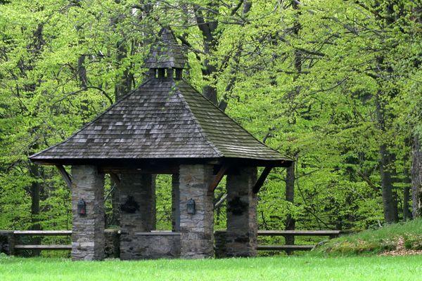 Die Fatimakapelle bei Klingenbrunn in der Gemeinde Spiegelau